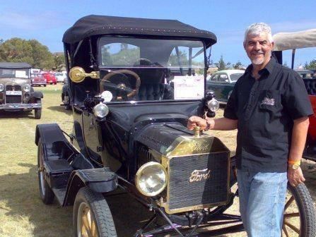Hennie Botes - CEO of moladi - Ford Model T