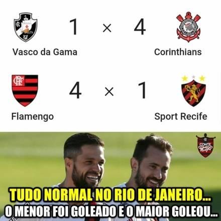 Flamenguistas cutucam rivais após goleada sobre o Sport; veja memes