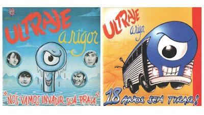 Dois álbuns do Ultraje que não podem faltar na discoteca de um roqueiro brasileiro.