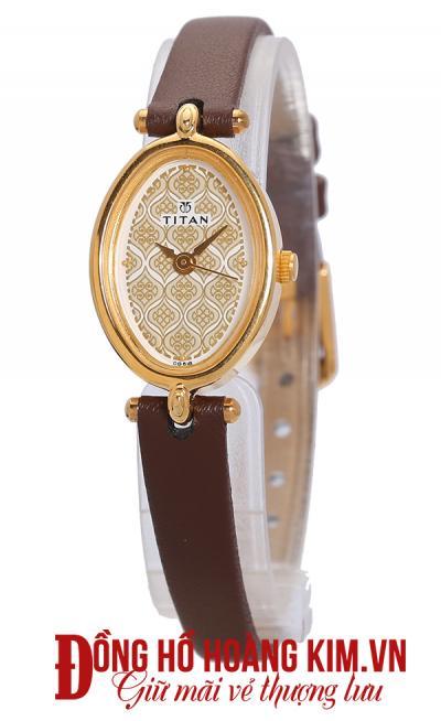 đồng hồ nữ dây da cao cấp đẹp