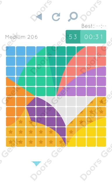 Cheats, Walkthrough for Blocks and Shapes Medium Level 206