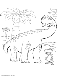 Herbivore Dinosaur Coloring Pages