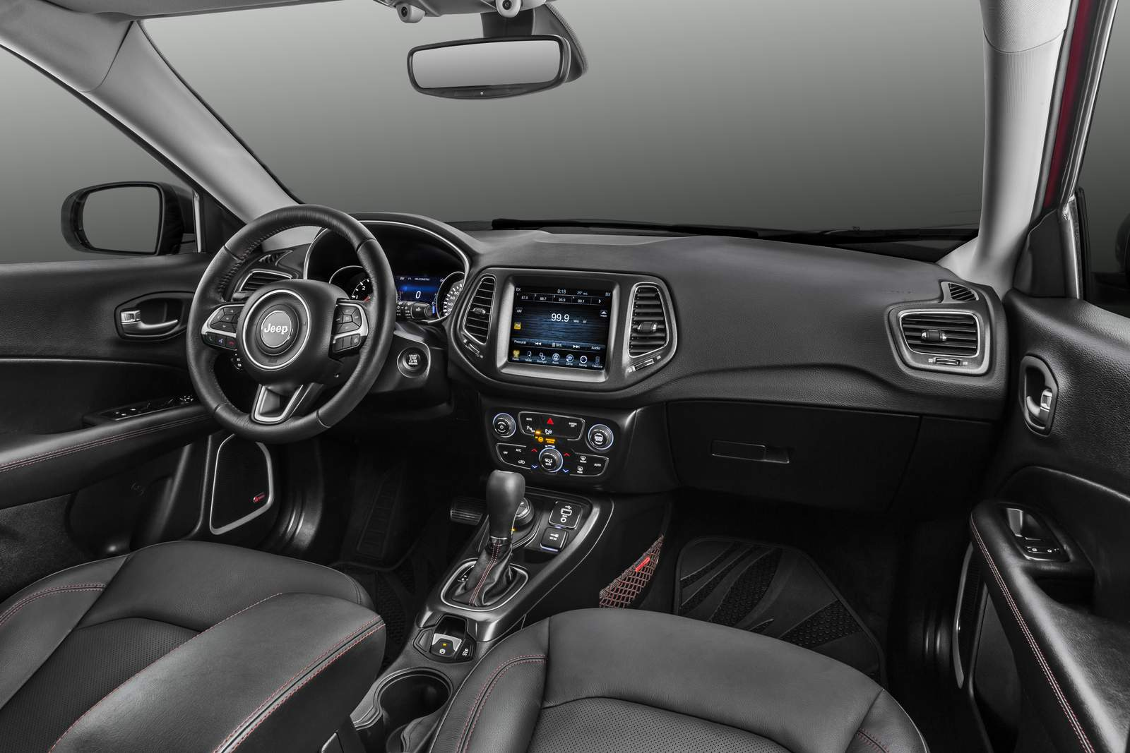 novo jeep compass 2017 pre os itens de s rie opcionais car blog br. Black Bedroom Furniture Sets. Home Design Ideas