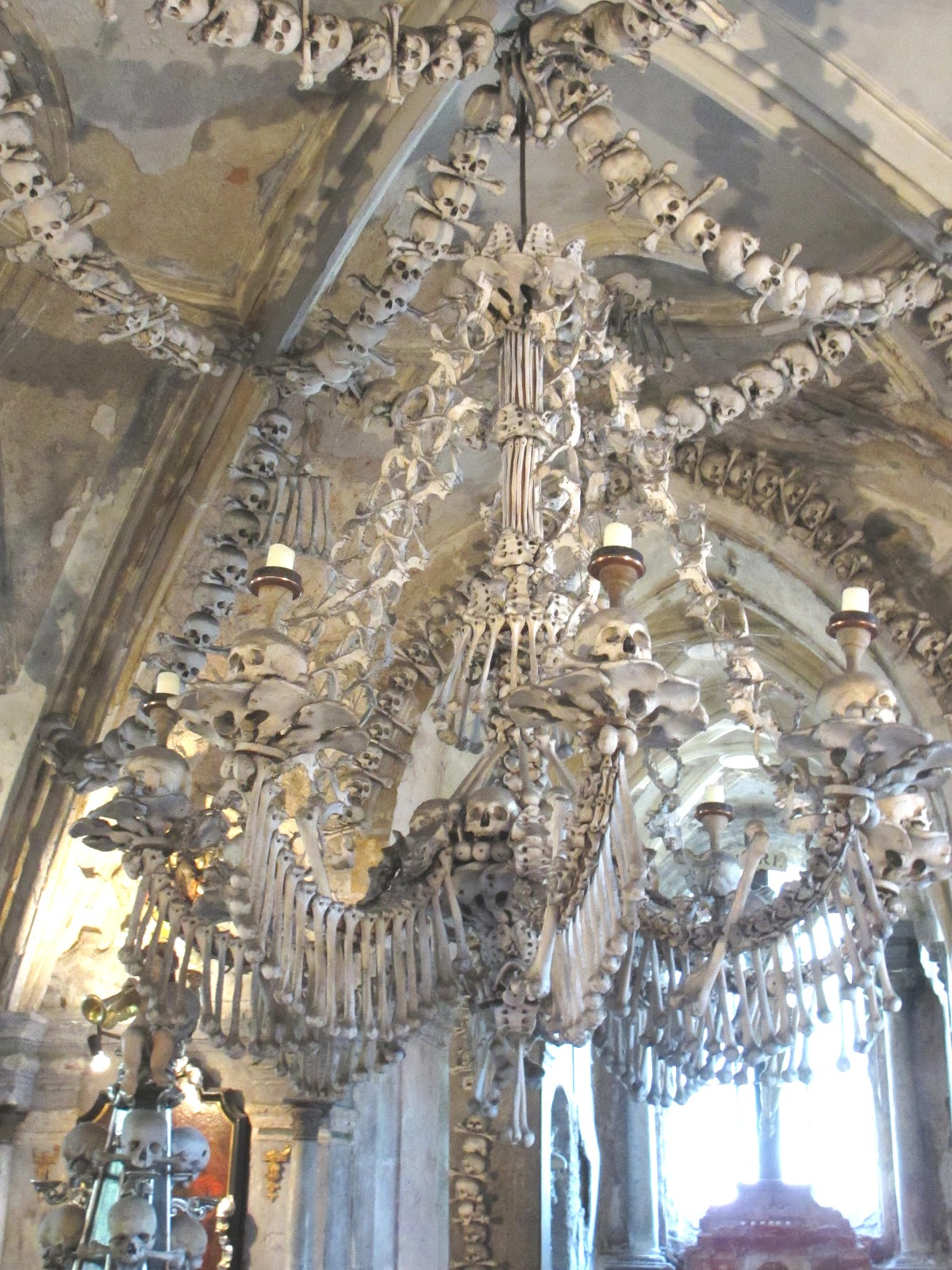 Cannundrums Church Of All Saints And Sedlec Ossuary
