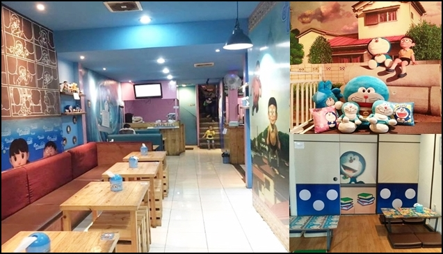 D'Moners Home, Cafe Unik Bertema Doraemon