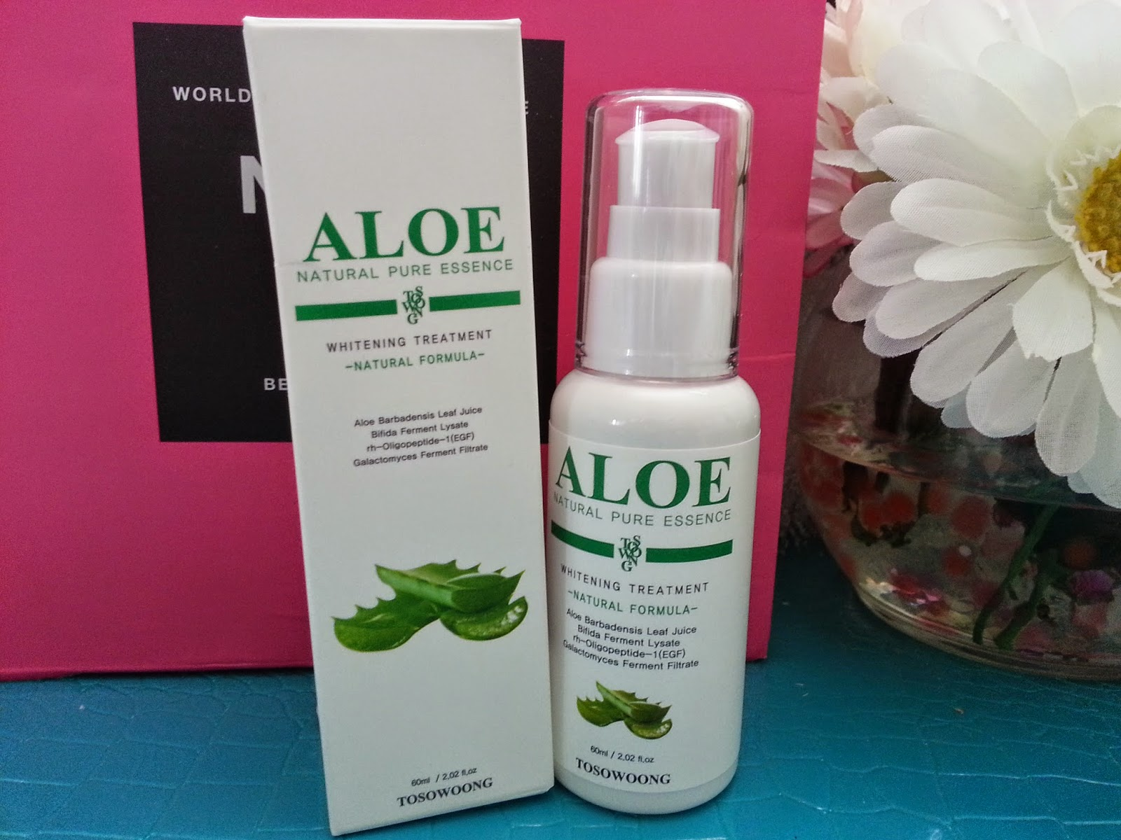 Tosowoong Aloe Whitening Essence