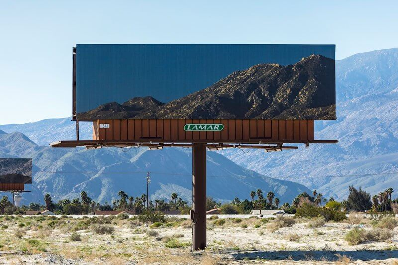 Artist Swaps Billboards With Pictures Of The Landscapes They're Hiding