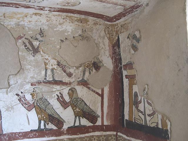 Paintings from the tomb of Petosiris at Muzawaka (XXXIX)