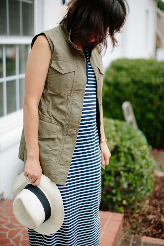 Maternity Uniform, Gap Maxi dress