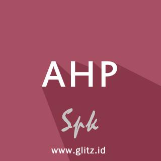 Cara membuat java spk AHP