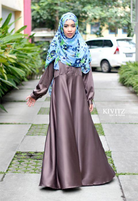 Model Baju Muslim Untuk Acara Pesta