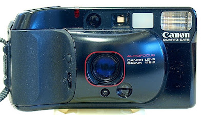Canon Autoboy 3. Front