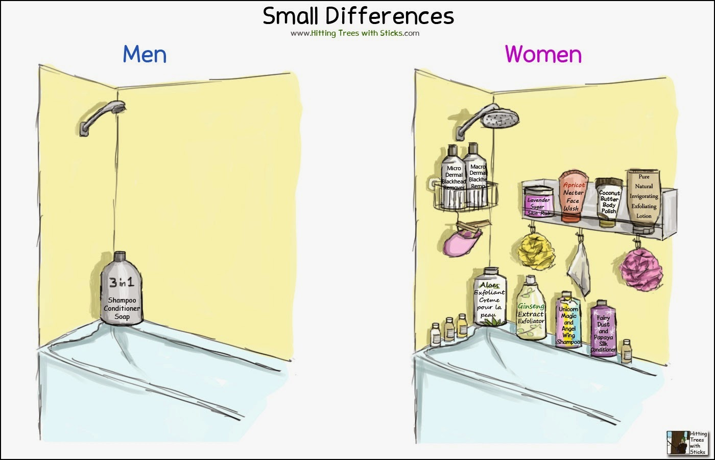 the differences in men and women Men vs women the differences between men and women have spawned literature, social structures, jokes, psychology streams, medicinal approaches and more.