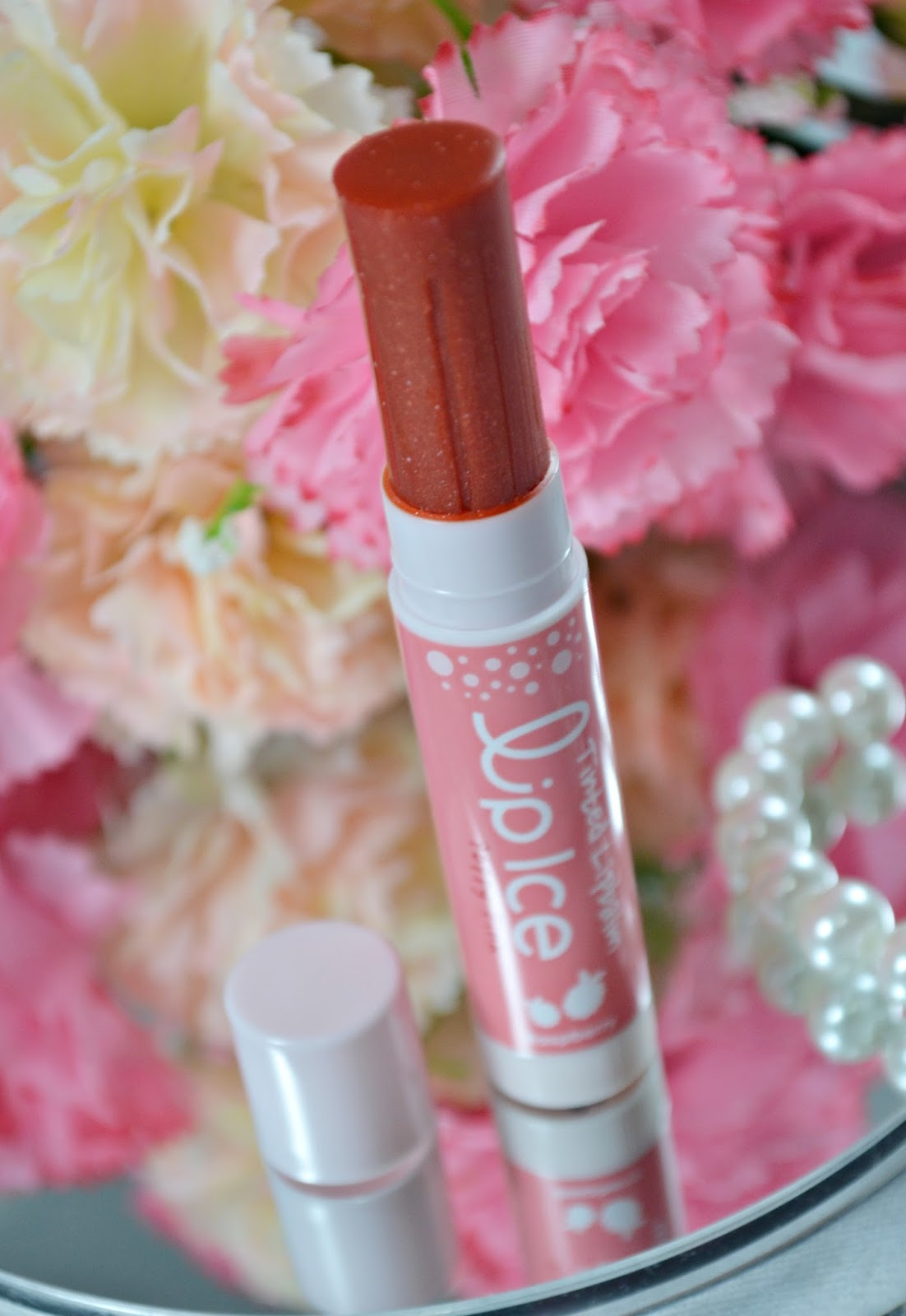 Lip Ice Tinted Lip Balm Baby Pink Poppy Pink And Rose