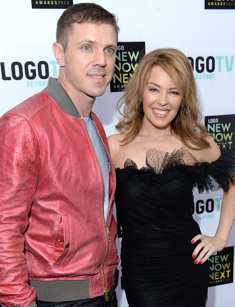 Watch Kylie Minogue Receives Dance Floor Hero Award At: WATCH: Kylie Werks The Red Carpet At Logo's NewNowNext