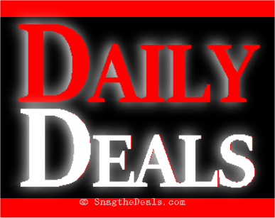DAILY DEALS JAN 23 over 480 deals up to 80% off
