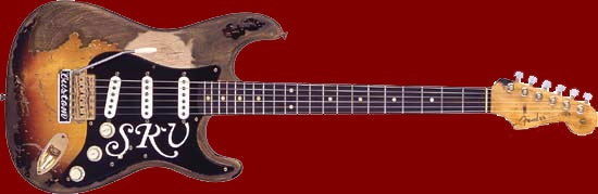 The Unique Guitar Blog: The Guitars of Stevie Ray Vaughan