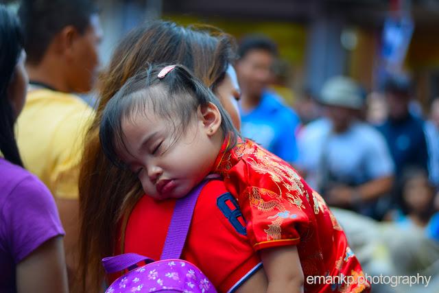 CHINATOWN PHOTOWALK 2016: Girl asleep