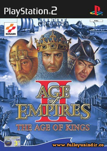 Age of Empires II The Age of Kings (PAL) Playstation 2 Tek Link