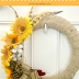 Dollar Tree Fall Wreath Tutorial #pinterestchallenge