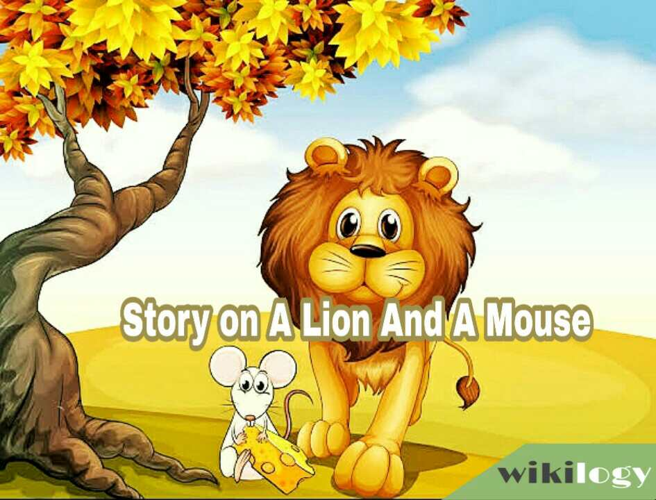 completing story the lion and the mouse