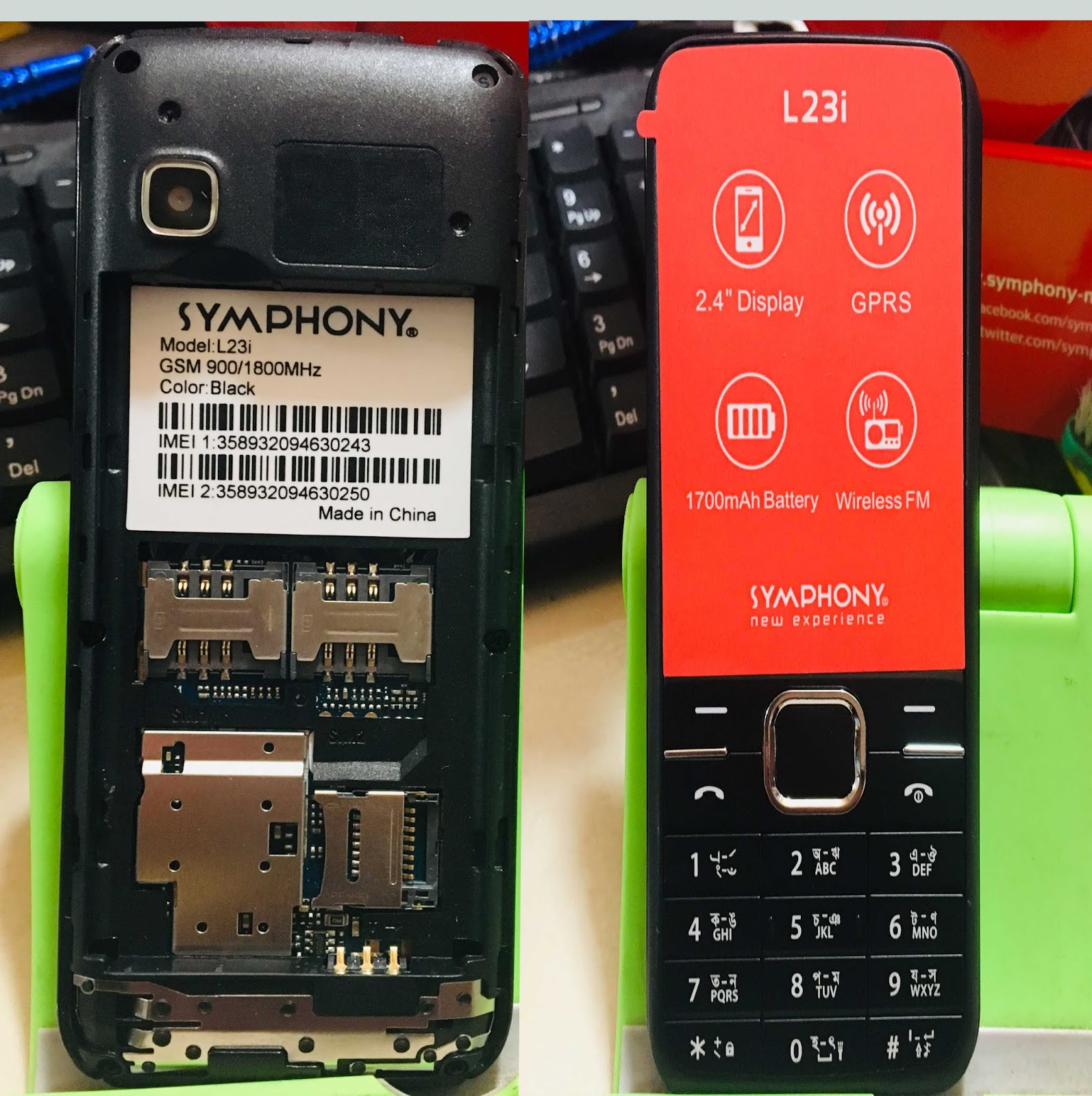 Symphony L23i flash file full free without password Spd 6531E Read