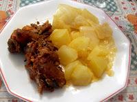 Botillo con col y patatas
