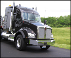 Kenworth T880 with 72 Inch Mid-Roof Sleeper