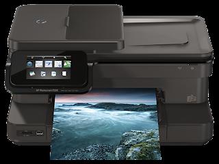 Baixar HP Photosmart 7520 driver para o Windows 8, Windows 7 e Mac.