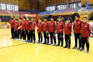 Presentación de los equipos del Club Balonmano Zuazo