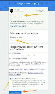 google adsense account kaise banaye aur blog ,website ko kaise jode janiye hindi me.