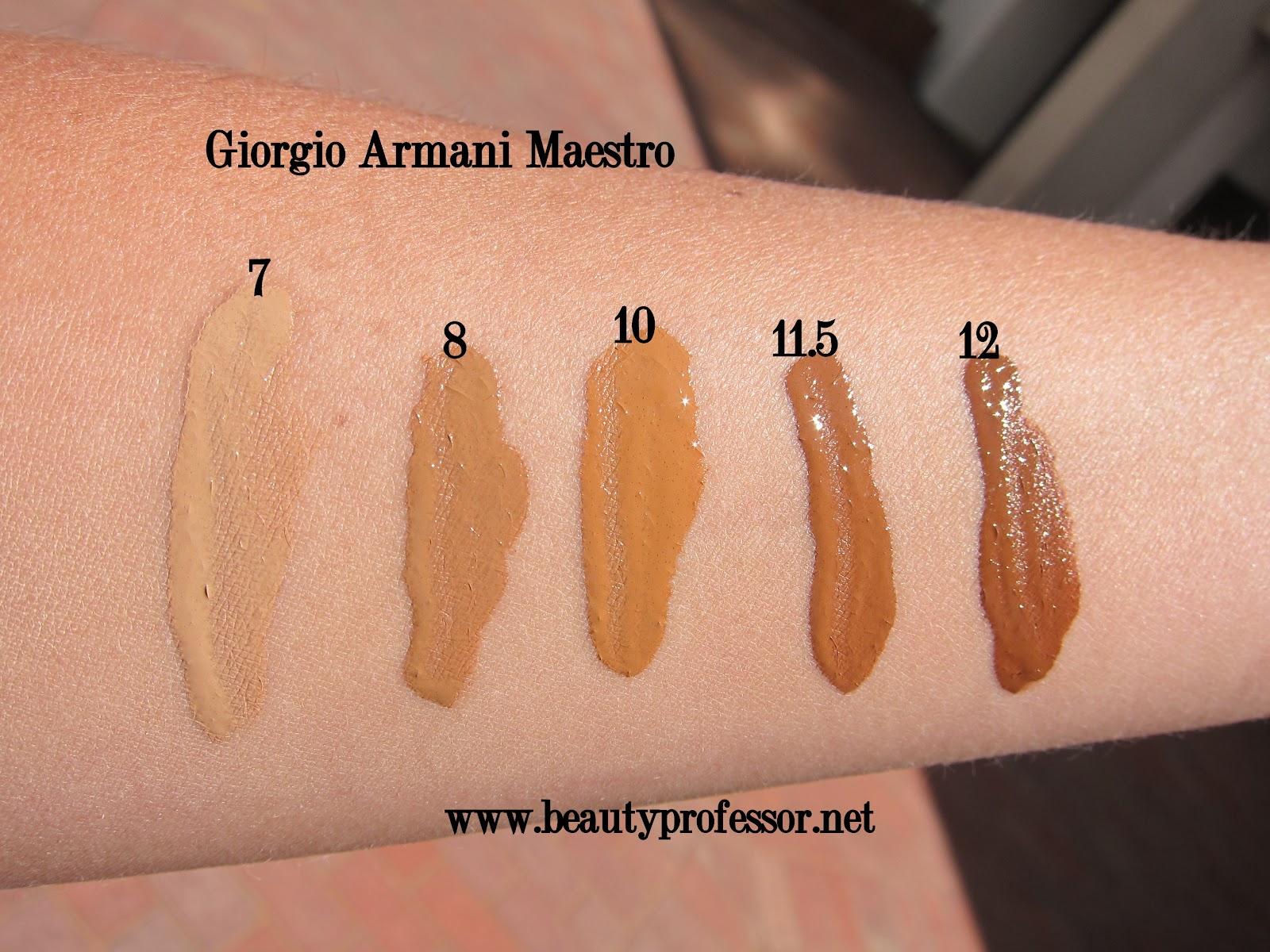 Beauty Professor Giorgio Armani Maestro Makeup My