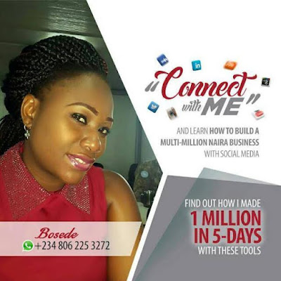 Learn how to build a multi-business business with social media - Connect with Bosede