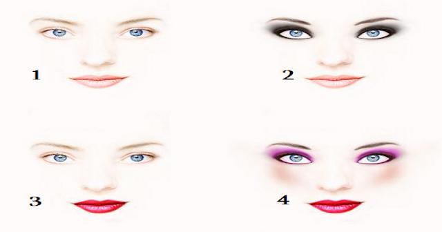 А как краситесь Вы? Выберите свой макияж и узнаете кое-что о себе…