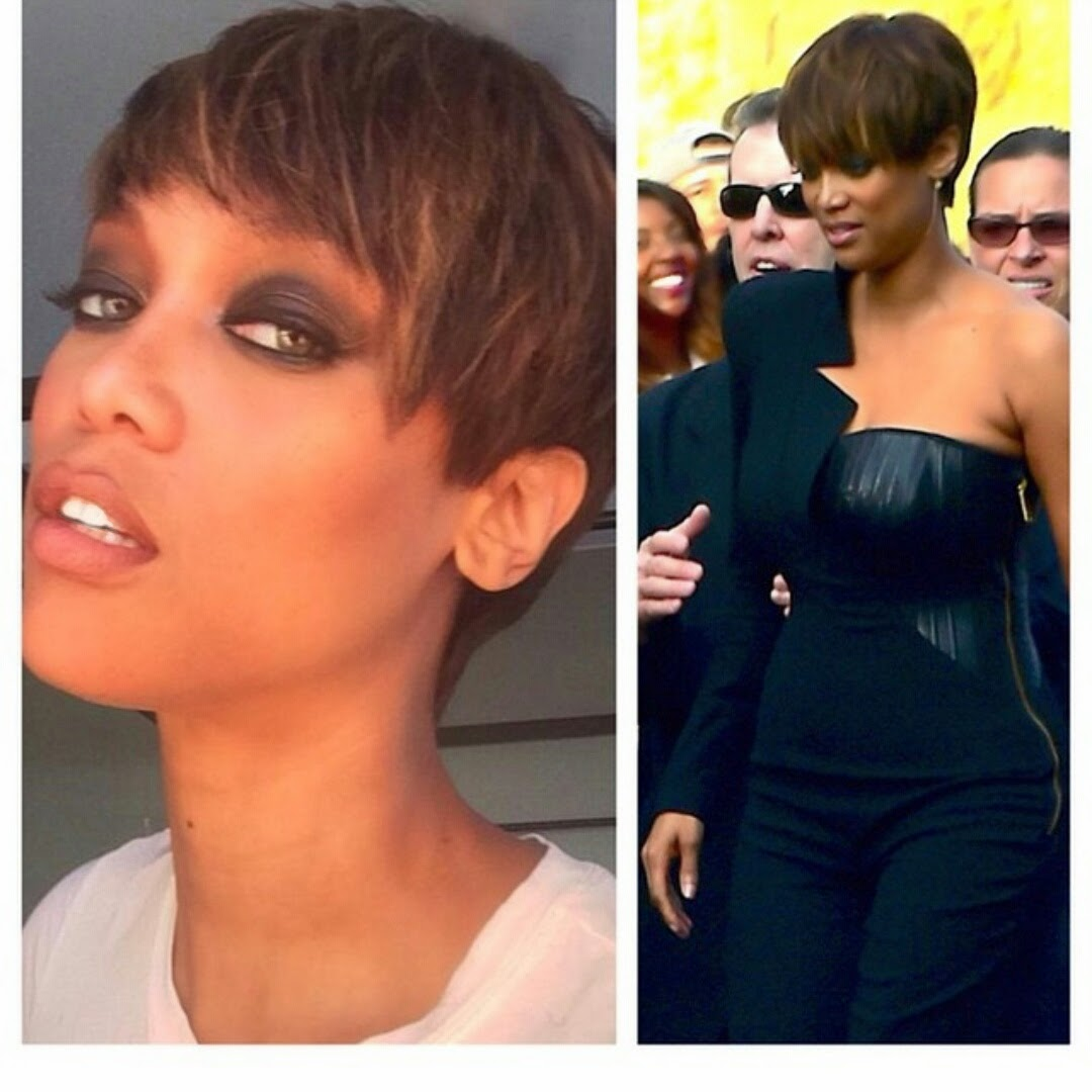 do we love tyra banks new short hairstyle?? | welcome to amerie's blog