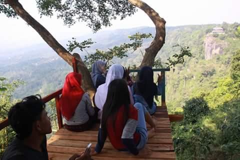 wisata Rumah Pohon Curugsewu | Rumah pohon bukit kendeng curugsewu |  wonderful Indonesia