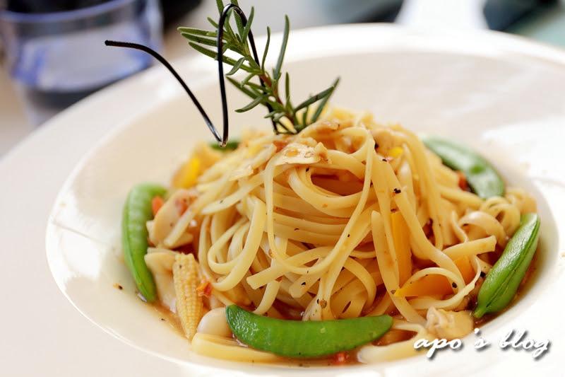 綠晨親子餐廳-義大利麵