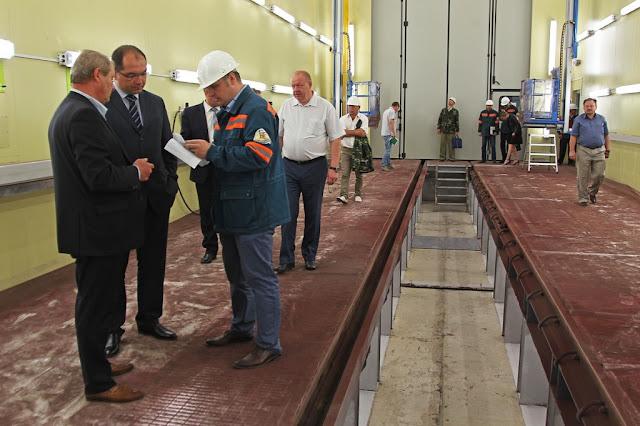 Новая роботизированная линия для ремонта антикоррозийной защиты железнодорожных вагонов «Беларуськалий»