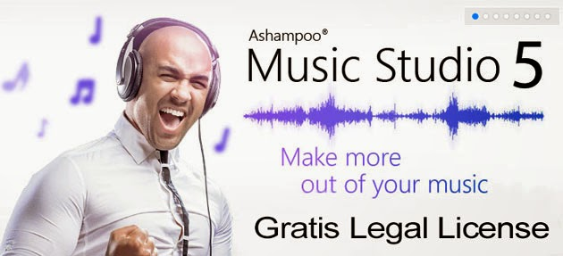 Download Ashampoo Music Studio 5 Full Legal License