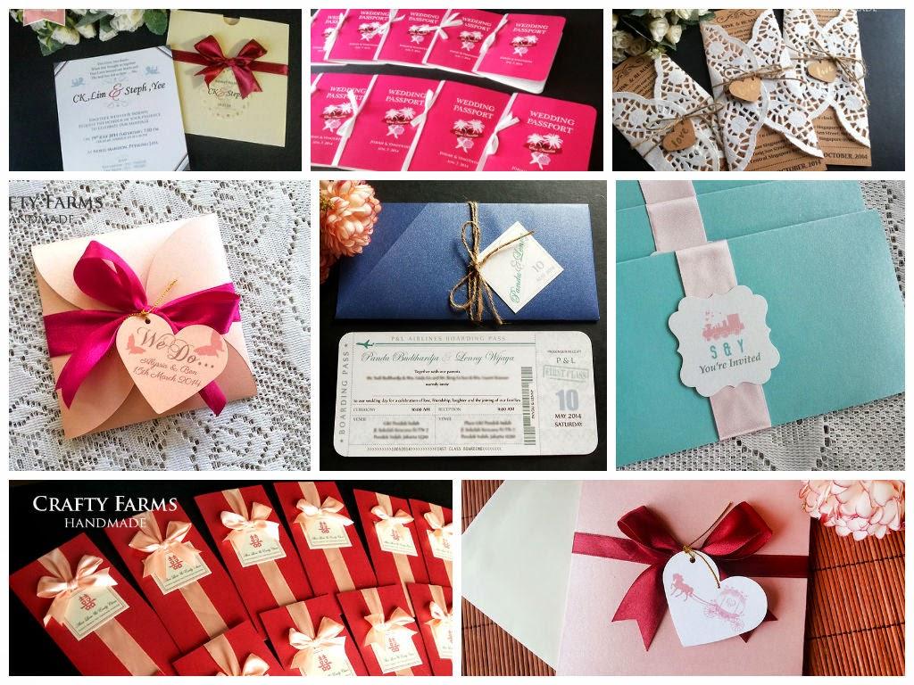 Crafty Farms Handmade : WEDDING CARDS