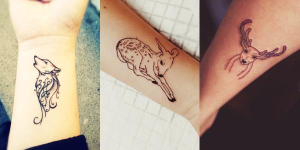 Tatuagens de animais delicados - Blog Mente Viajante