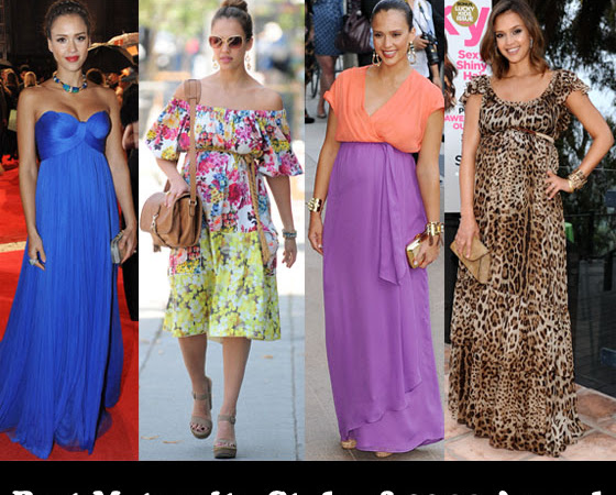 Best Maternity Style of 2011 Award – Jessica Alba