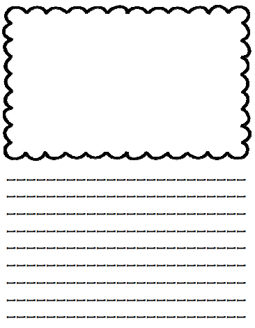third grade handwriting paper