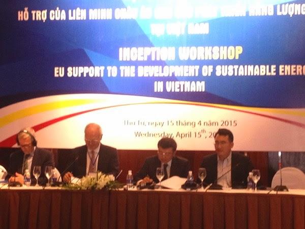 Liên minh châu Âu sẽ dành 360 triệu Euro giúp Việt Nam phát triển năng lượng bền vững