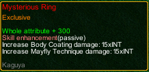 naruto castle defense 6.6 Zatsu Mysterious Ring detail