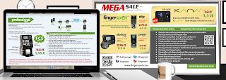 Promo Mesin Absensi Sidik Jari Fingerspot Yogya Periode Promo 01 April s/d 30 April 2015