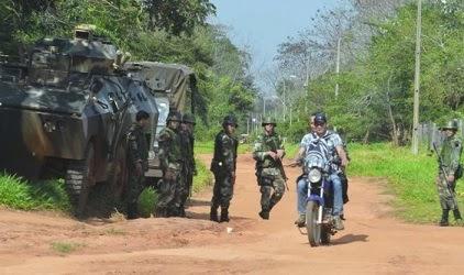 Resultado de imagen para Ejército del Pueblo Paraguayo crece y preocupa
