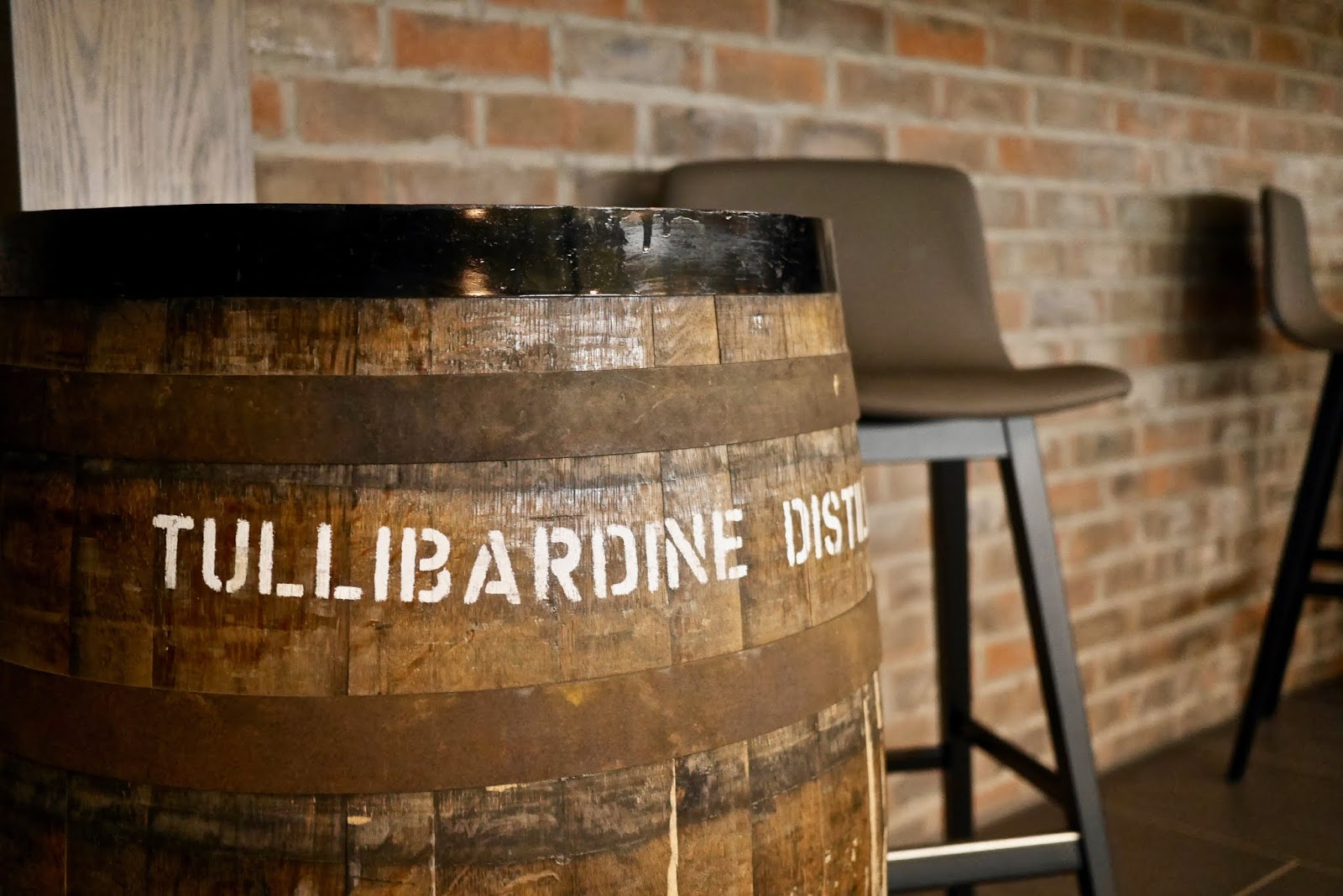 Tullibardine whisky distillery new tasting room by Cal McTravels at www.calmctravels.com