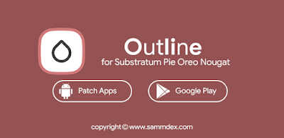 Outline for Substratum Pie Oreo Nougat