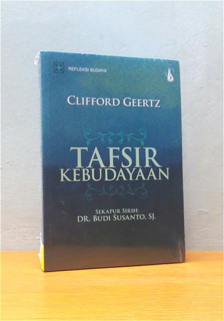 TAFSIR KEBUDAYAAN, Clifford Geertz